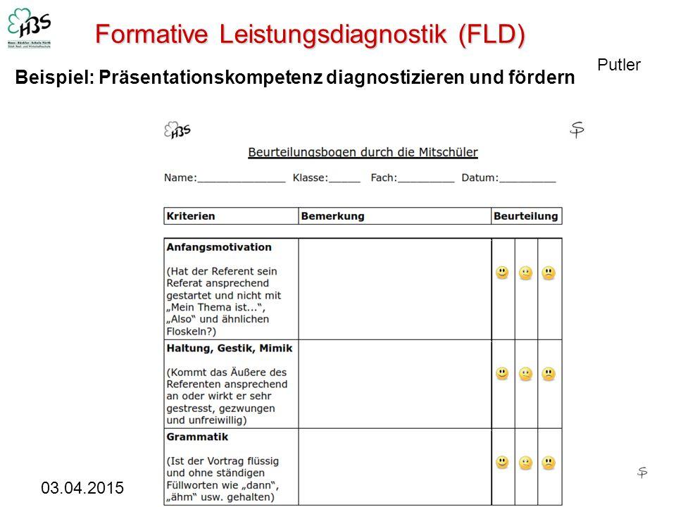 Formative Leistungsdiagnostik (FLD)