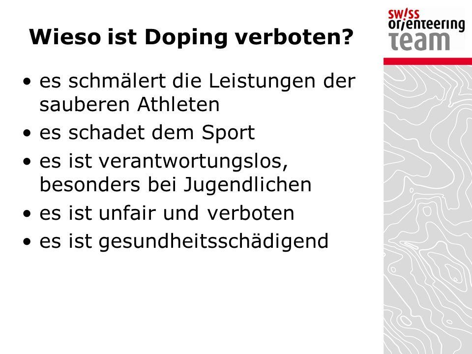 Wieso ist Doping verboten