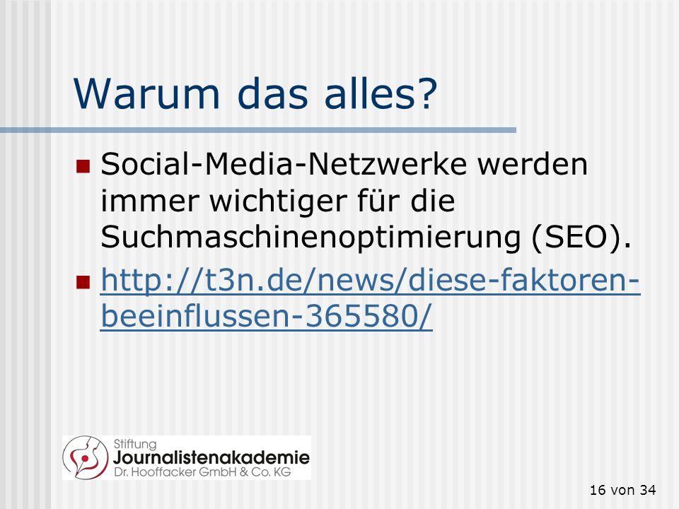 Warum das alles Social-Media-Netzwerke werden immer wichtiger für die Suchmaschinenoptimierung (SEO).