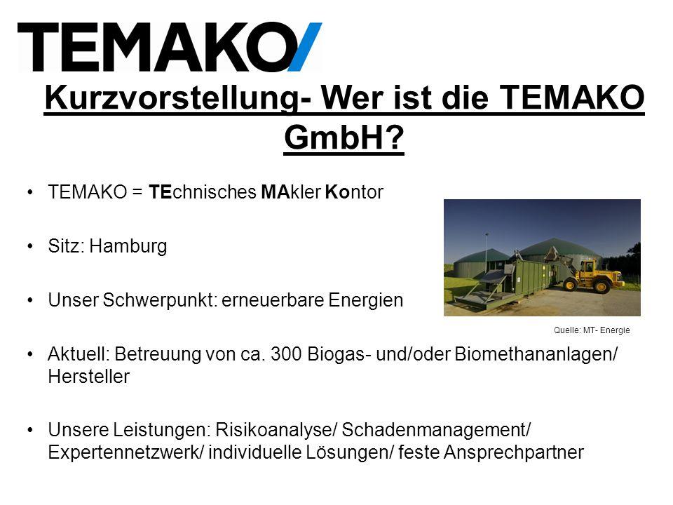 Kurzvorstellung- Wer ist die TEMAKO GmbH