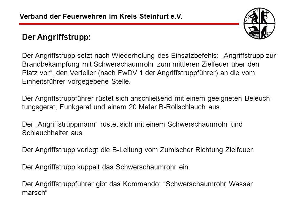 Der Angriffstrupp: Verband der Feuerwehren im Kreis Steinfurt e.V.