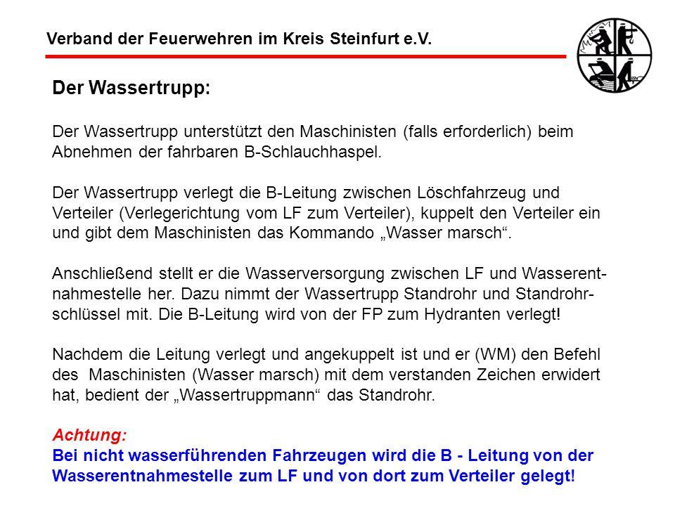 Der Wassertrupp: Verband der Feuerwehren im Kreis Steinfurt e.V.