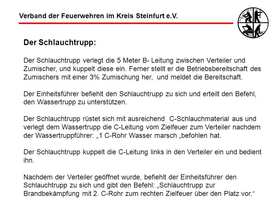 Der Schlauchtrupp: Verband der Feuerwehren im Kreis Steinfurt e.V.