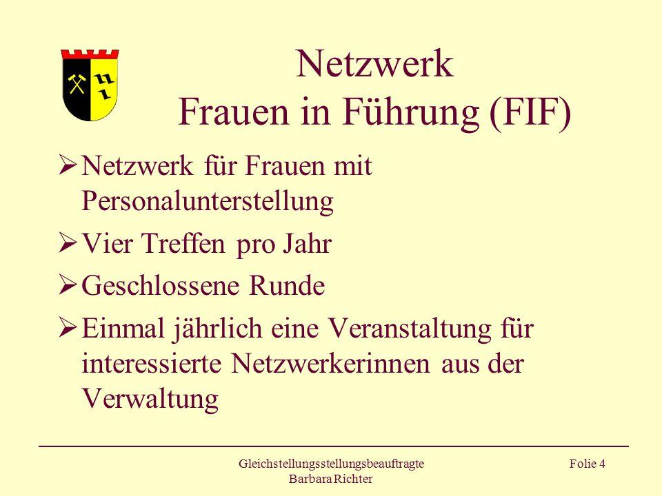 Netzwerk Frauen in Führung (FIF)