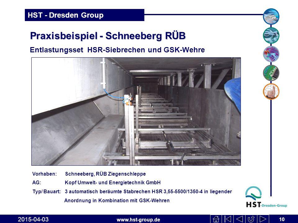 Praxisbeispiel - Schneeberg RÜB