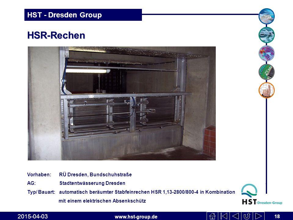 HSR-Rechen 2017-04-10 Vorhaben: RÜ Dresden, Bundschuhstraße