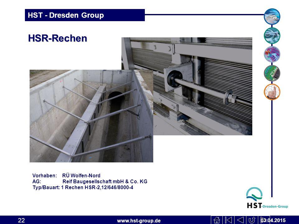 HSR-Rechen Vorhaben: RÜ Wolfen-Nord