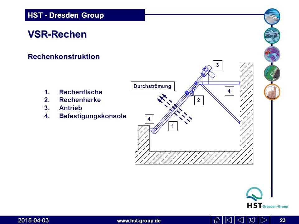 VSR-Rechen Rechenkonstruktion