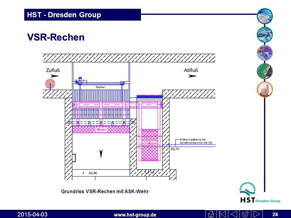 VSR-Rechen Grundriss VSR-Rechen mit ASK-Wehr 2017-04-10