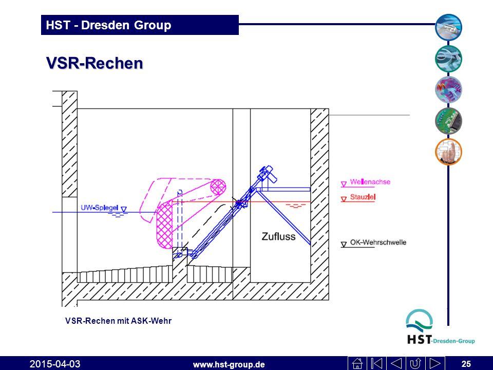 VSR-Rechen VSR-Rechen mit ASK-Wehr 2017-04-10
