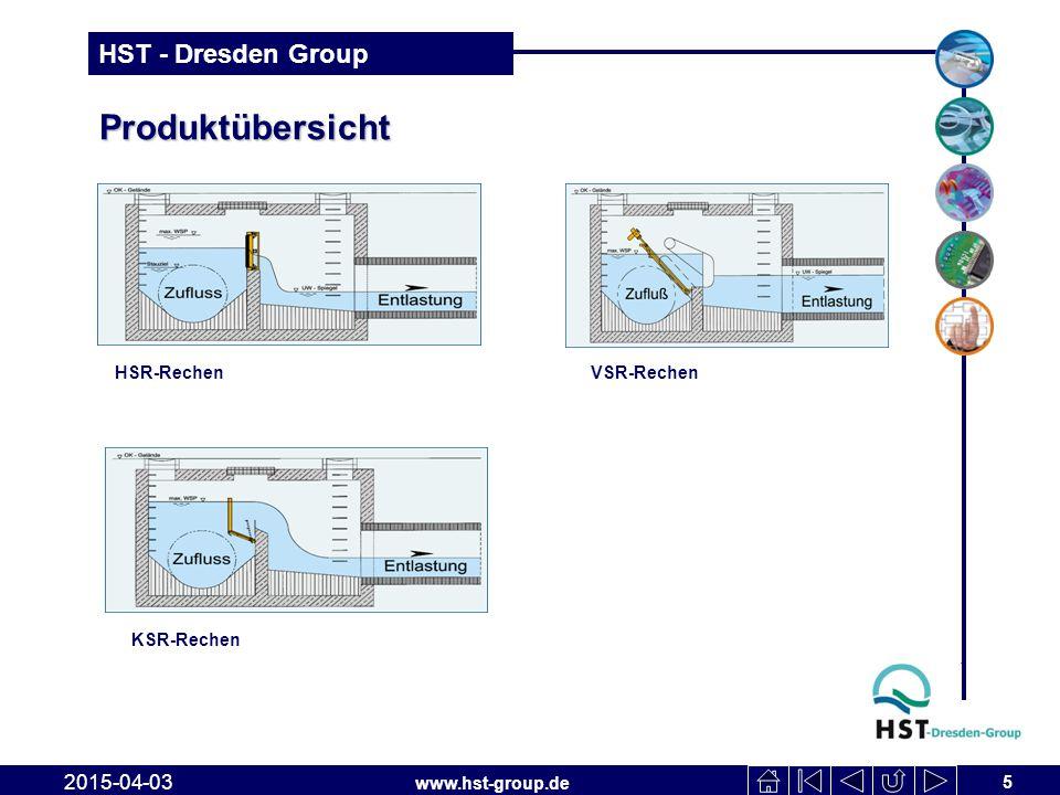 Produktübersicht HSR-Rechen VSR-Rechen KSR-Rechen 2017-04-10