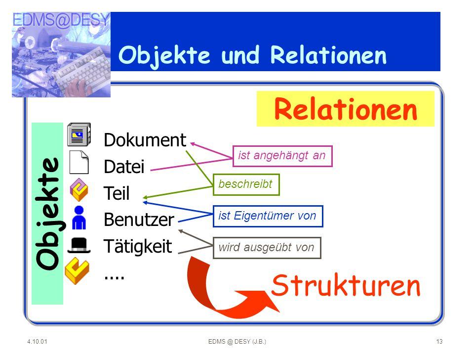 Objekte und Relationen