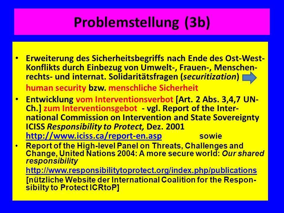 Problemstellung (3b)