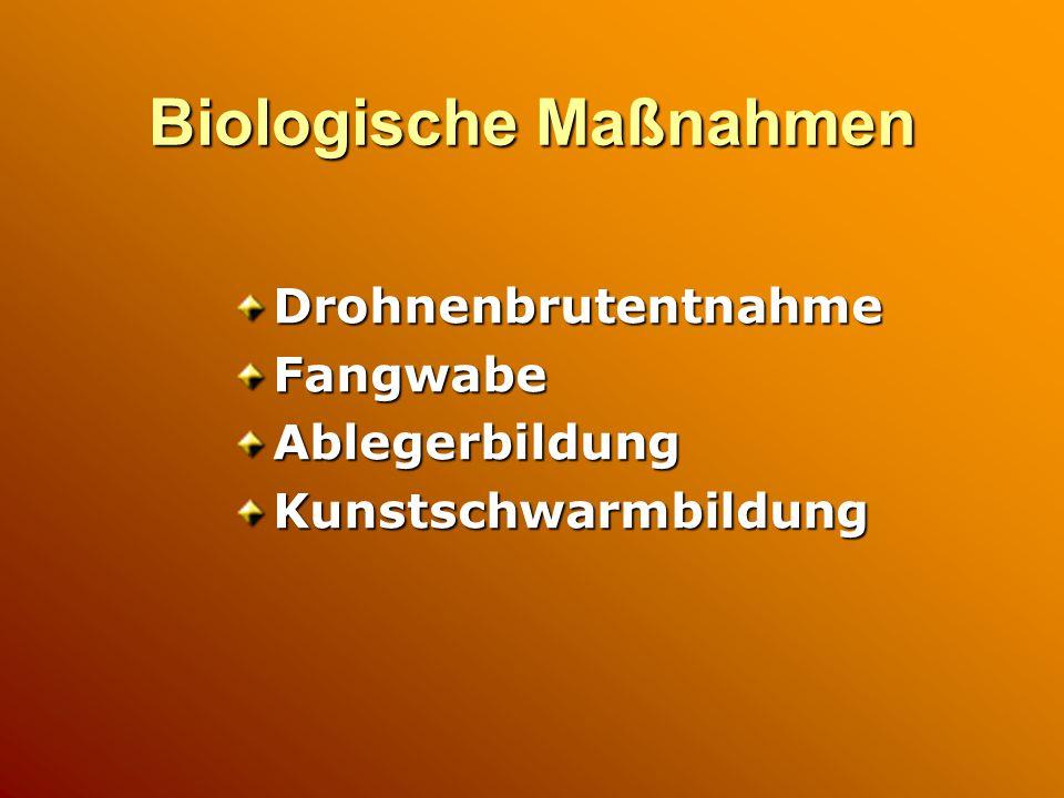 Biologische Maßnahmen