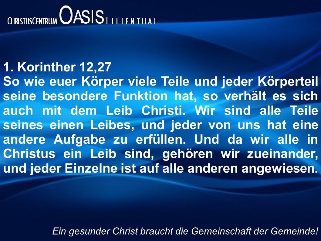 1. Korinther 12,27