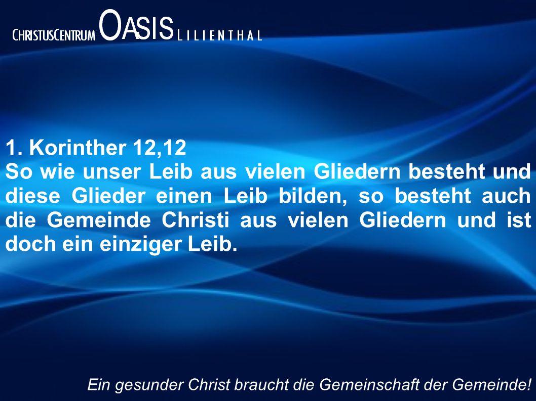1. Korinther 12,12