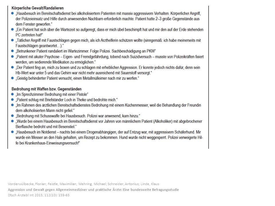 Vorderwülbecke, Florian; Feistle, Maximilian; Mehring, Michael; Schneider, Antonius; Linde, Klaus