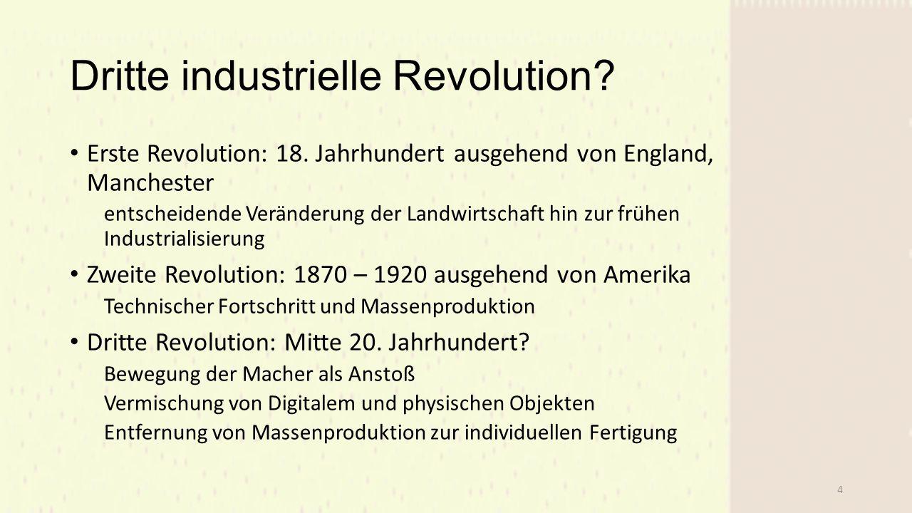 Dritte industrielle Revolution