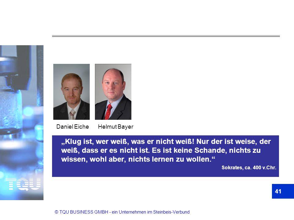 Daniel Eiche Helmut Bayer.