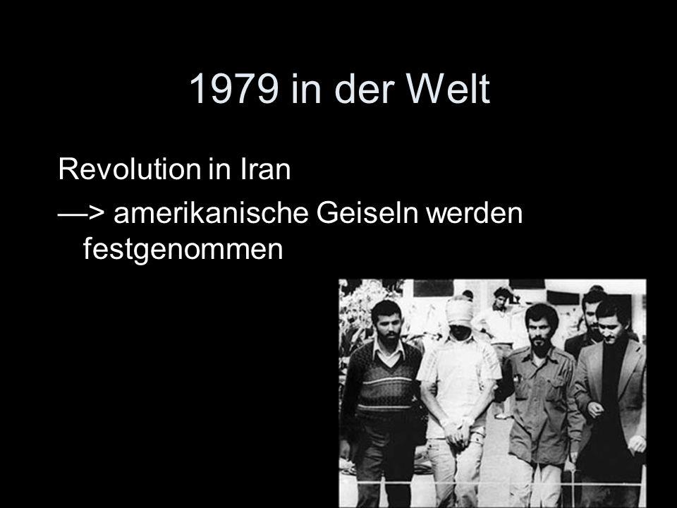 1979 in der Welt Revolution in Iran