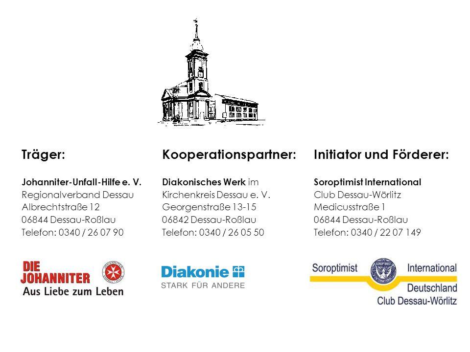 Kooperationspartner: Initiator und Förderer: