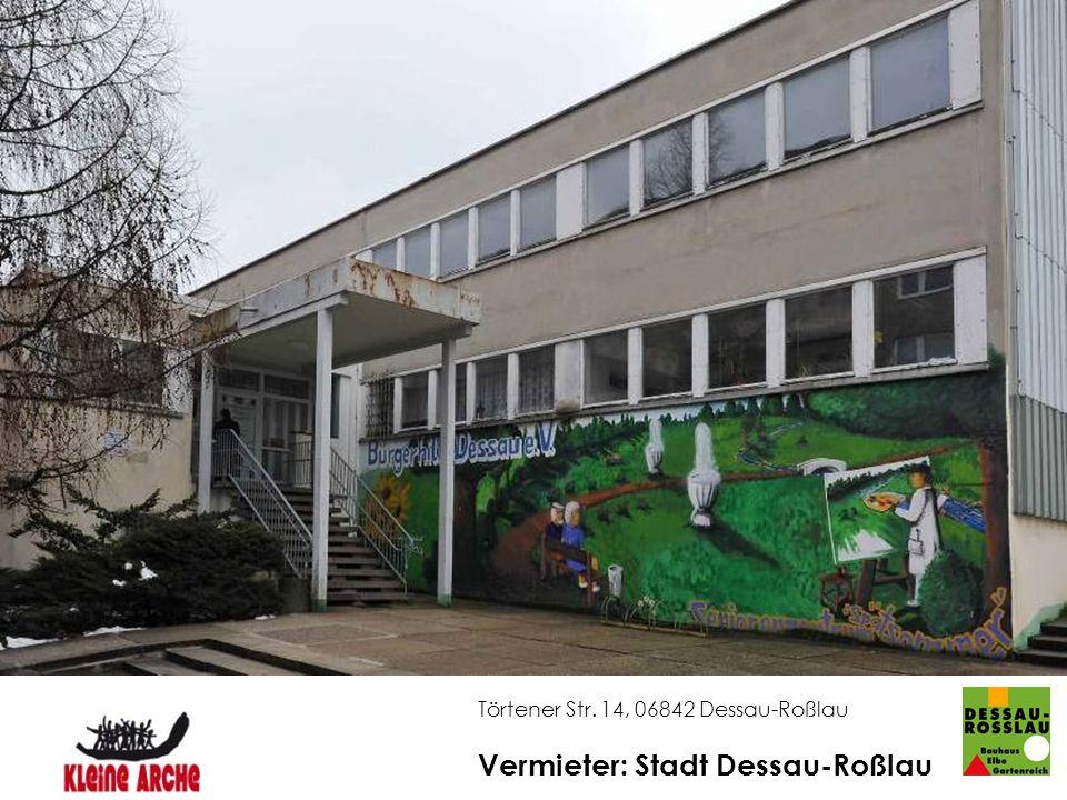 Vermieter: Stadt Dessau-Roßlau