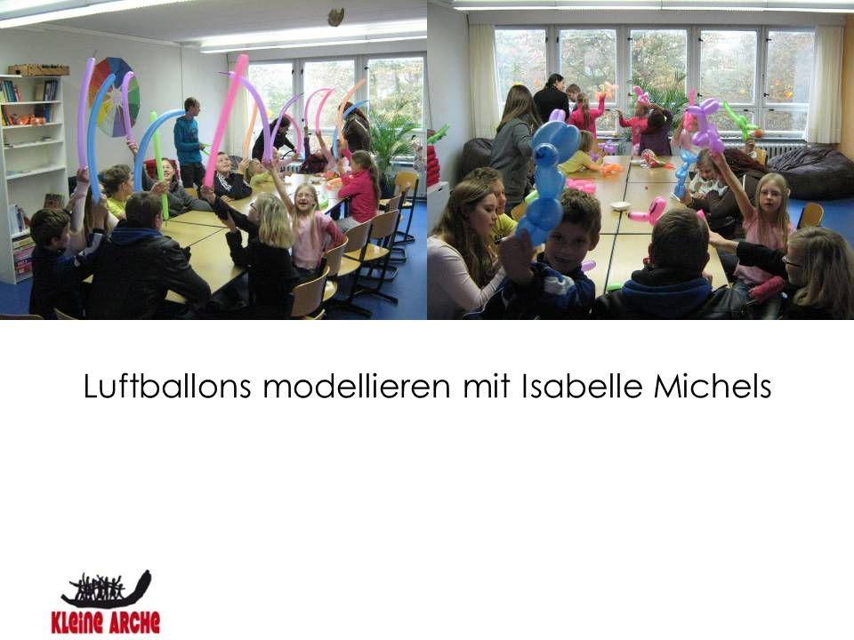 Luftballons modellieren mit Isabelle Michels