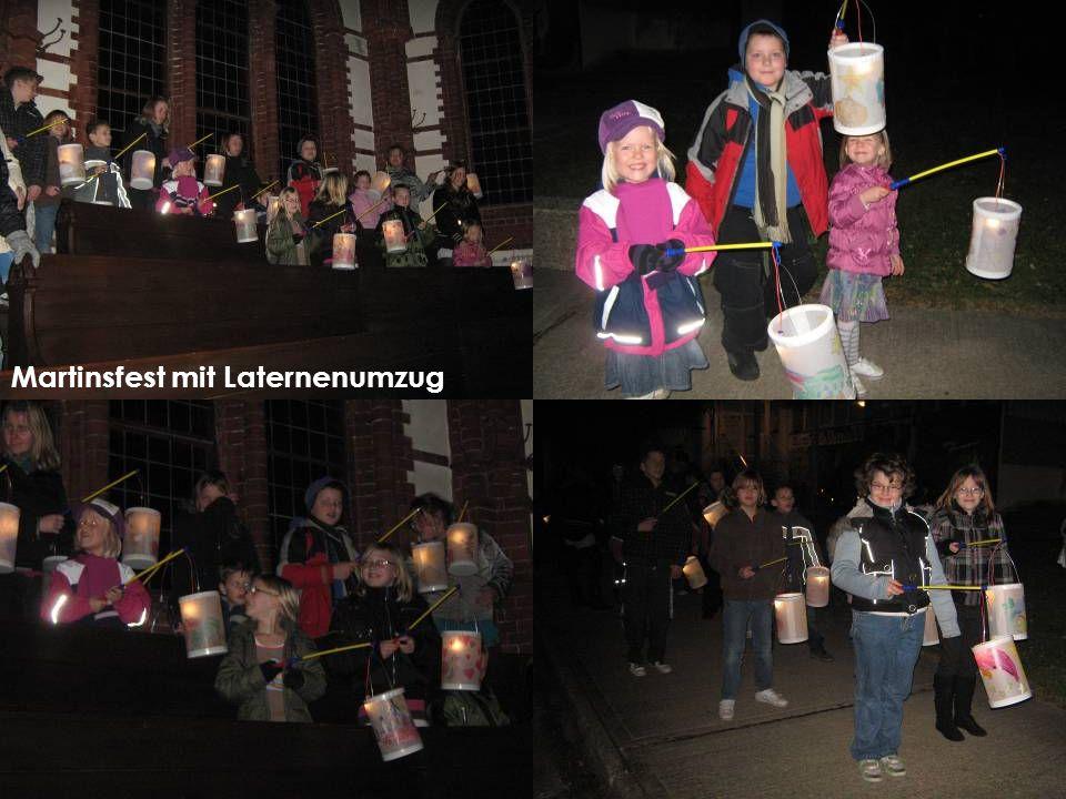 Martinsfest mit Laternenumzug