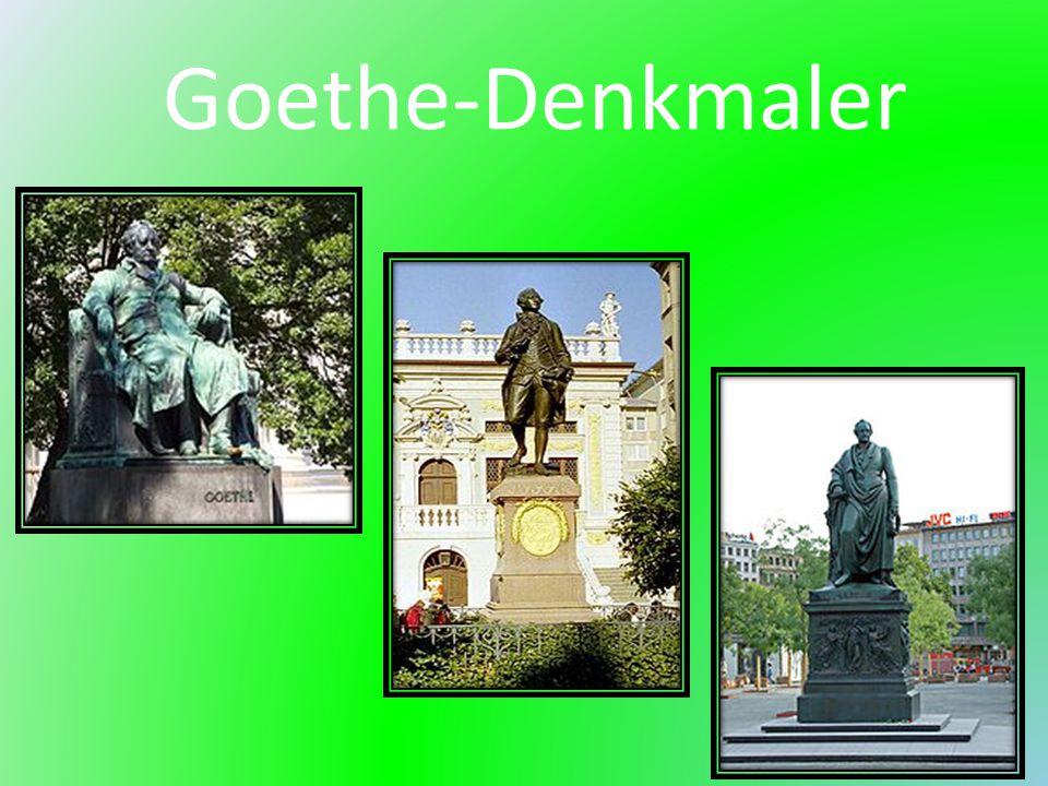 Goethe-Denkmaler
