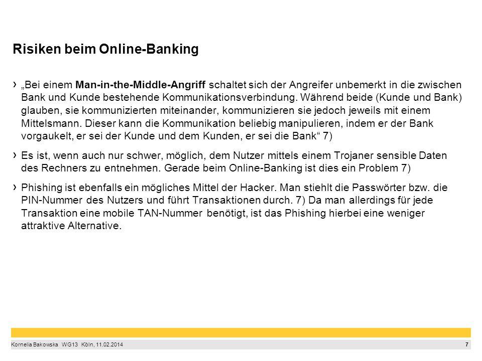 Wie man sich beim Online-Banking