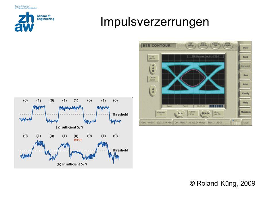Impulsverzerrungen © Roland Küng, 2009