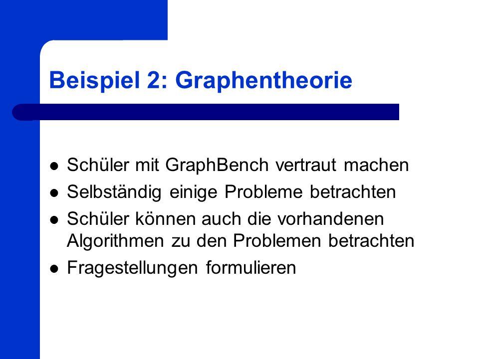 Beispiel 2: Graphentheorie