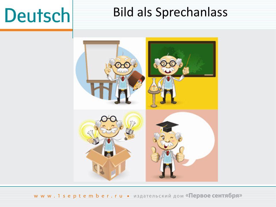 Bild als Sprechanlass Das Bild ist entnommen aus: www.shutterstock.com