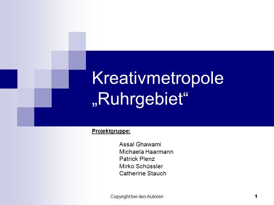 "Kreativmetropole ""Ruhrgebiet"