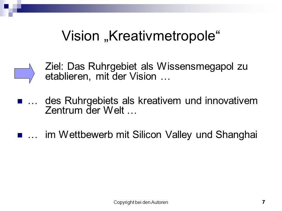 "Vision ""Kreativmetropole"