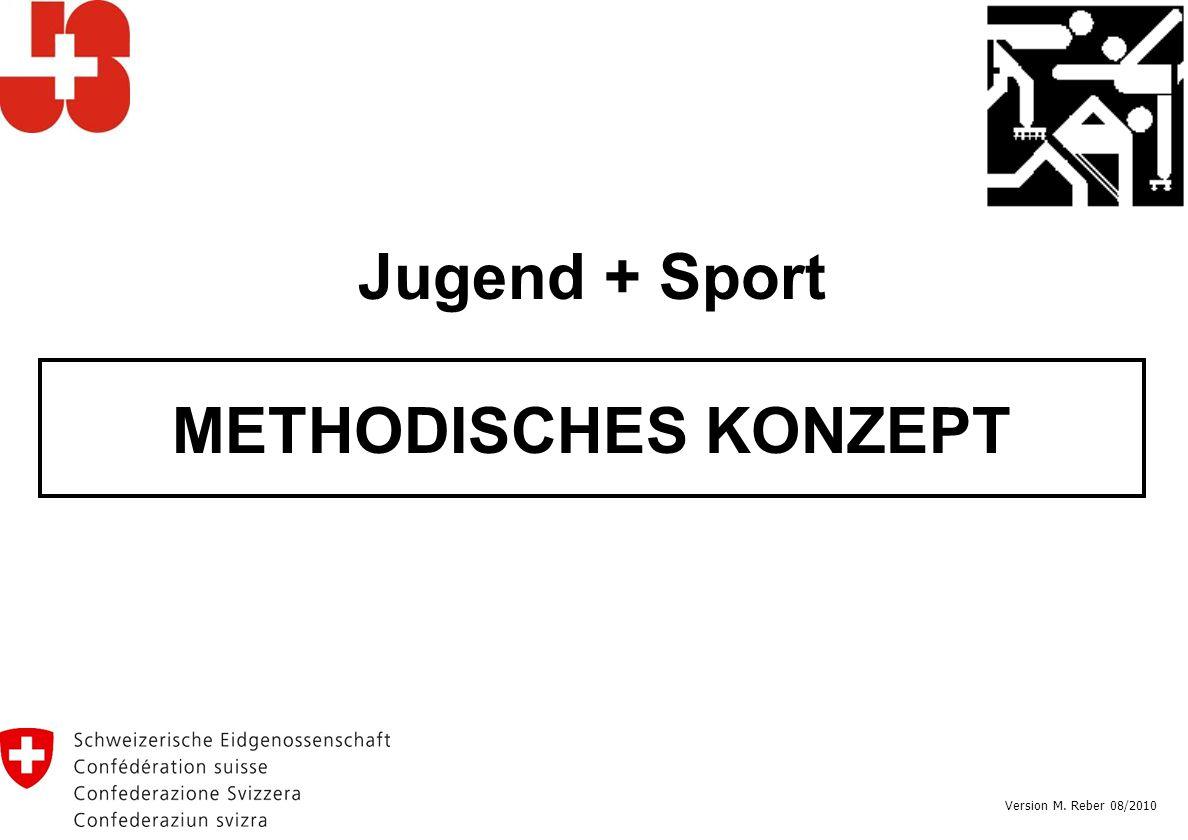 Jugend + Sport METHODISCHES KONZEPT