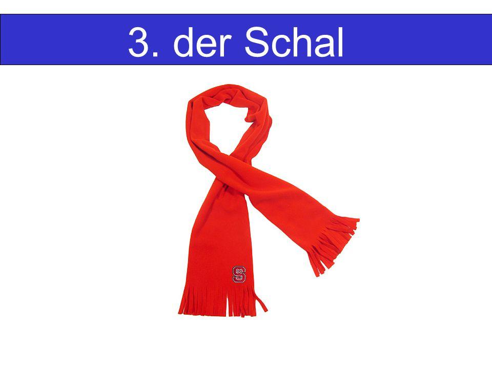 3. der Schal