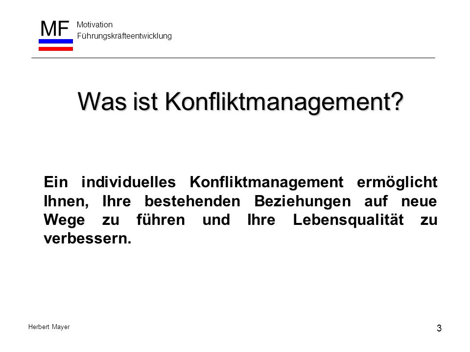 Was ist Konfliktmanagement