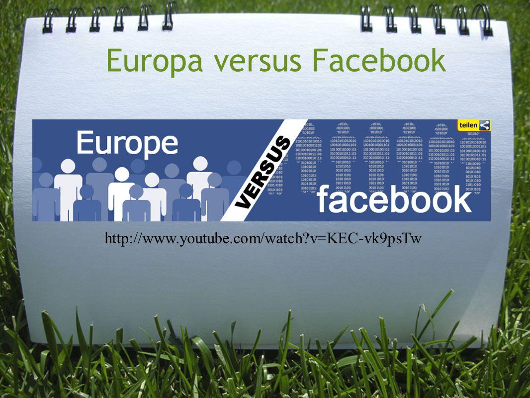 Europa versus Facebook