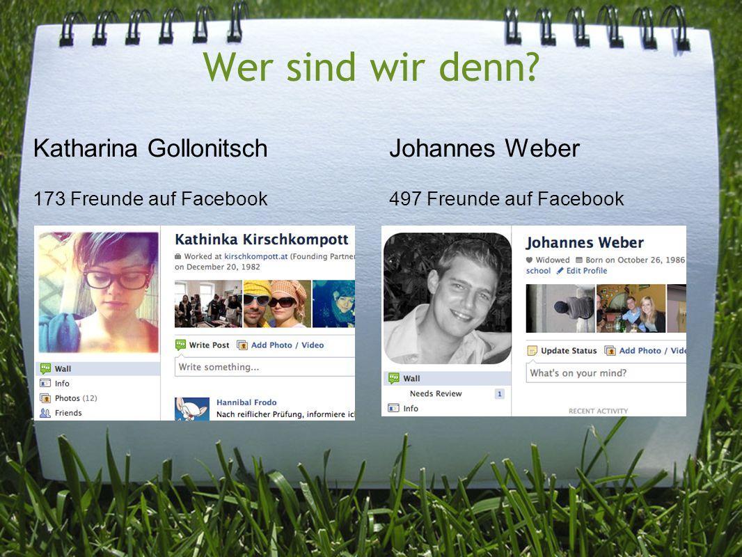 Wer sind wir denn Katharina Gollonitsch 173 Freunde auf Facebook
