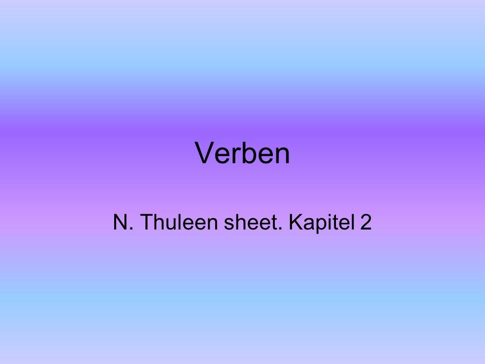 N. Thuleen sheet. Kapitel 2