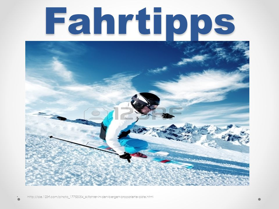 Fahrtipps http://de.123rf.com/photo_17753054_skifahrer-in-den-bergen-praparierte-piste.html