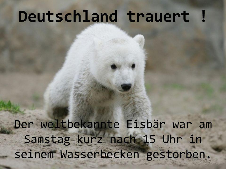 Deutschland trauert .