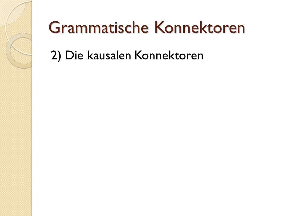 Grammatische Konnektoren