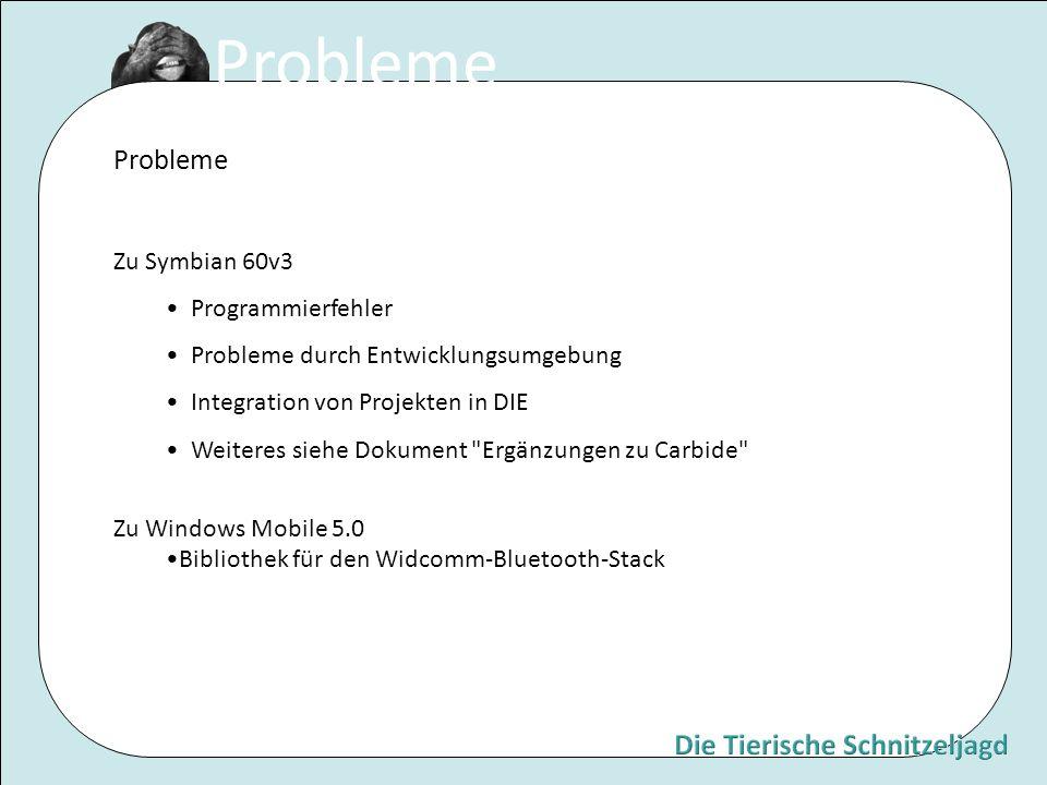Probleme Probleme Zu Symbian 60v3 Programmierfehler