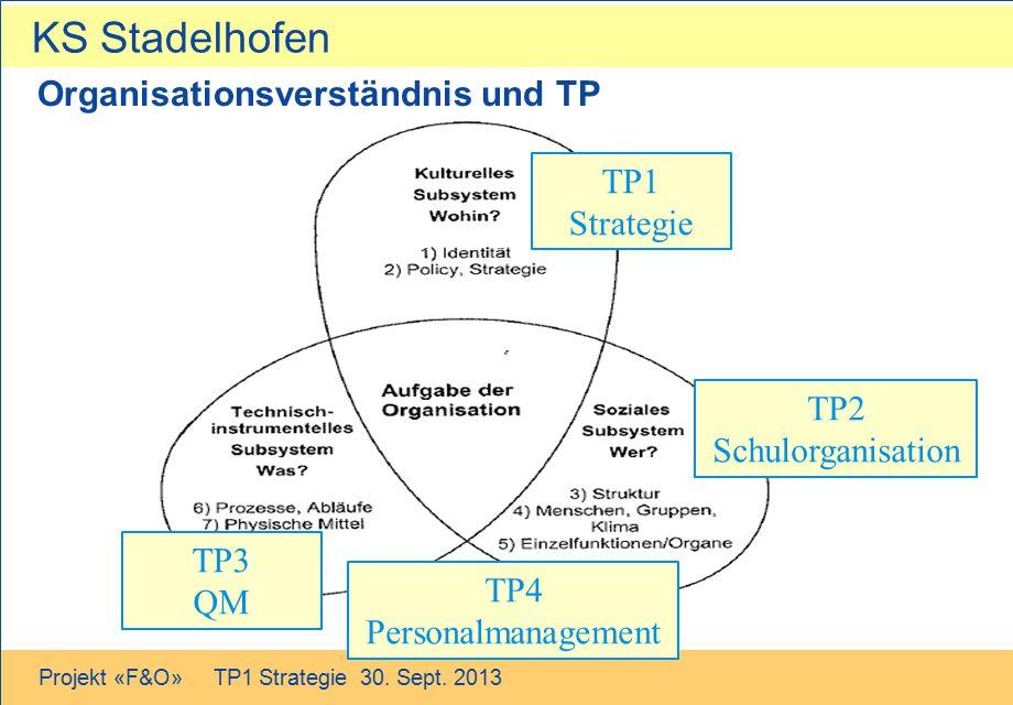 Organisationsverständnis und TP