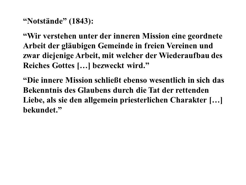 Notstände (1843):