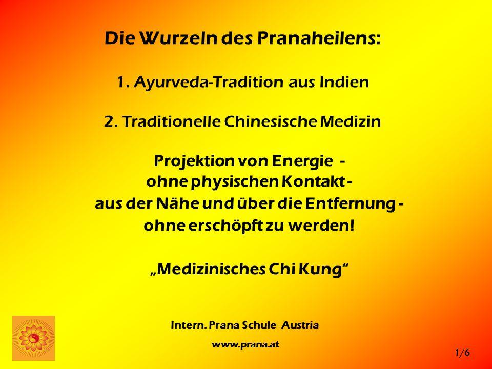 Die Wurzeln des Pranaheilens: