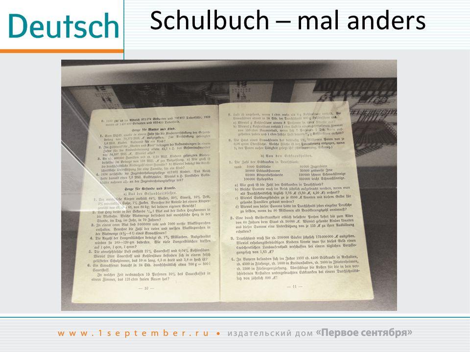 Schulbuch ─ mal anders Mathematik-Lehrbuch, 1938. Bayern.