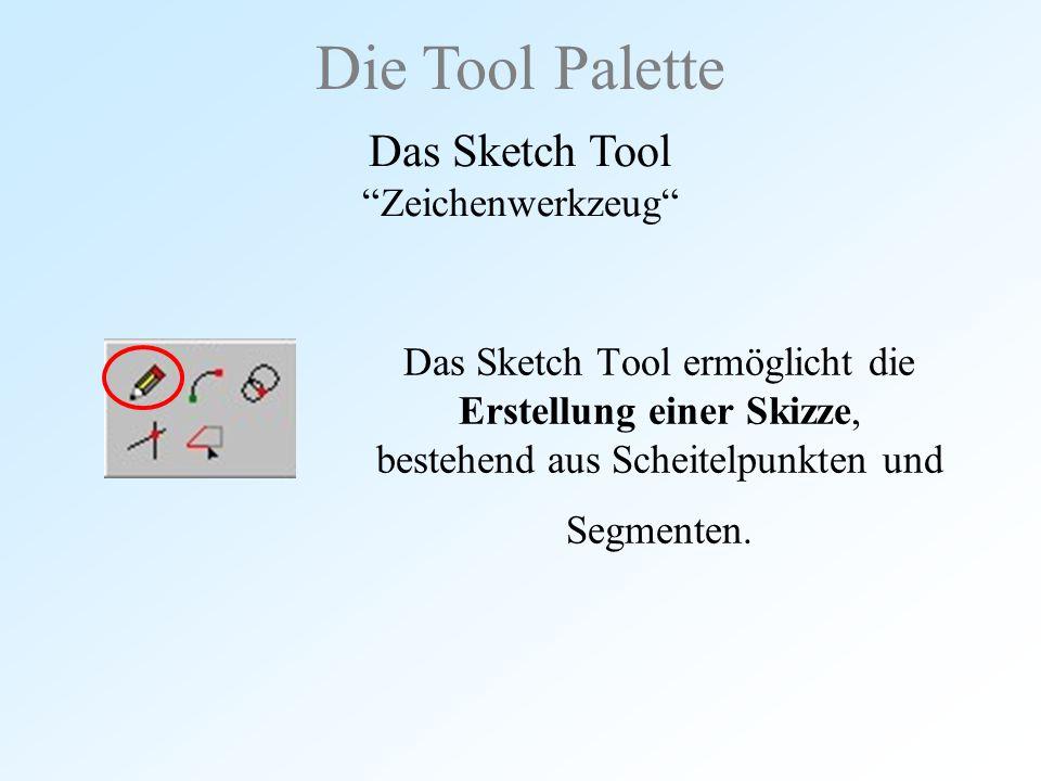 Das Sketch Tool Zeichenwerkzeug